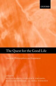 Foto Cover di Quest for the Good Life: Ancient Philosophers on Happiness, Ebook inglese di  edito da OUP Oxford