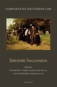 Ebook in inglese Comparative Succession Law: Volume II: Intestate Succession