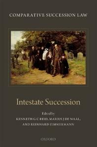 Ebook in inglese Comparative Succession Law: Volume II: Intestate Succession -, -
