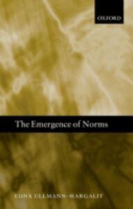 Foto Cover di Emergence of Norms, Ebook inglese di Edna Ullmann-Margalit, edito da OUP Oxford
