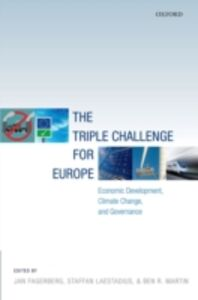 Ebook in inglese Triple Challenge for Europe: Economic Development, Climate Change, and Governance -, -