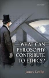 What Can Philosophy Contribute To Ethics?