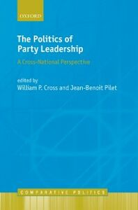 Ebook in inglese Politics of Party Leadership: A Cross-National Perspective -, -