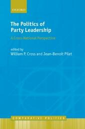 Politics of Party Leadership: A Cross-National Perspective