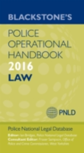 Ebook in inglese Blackstone's Police Operational Handbook 2016 -, -