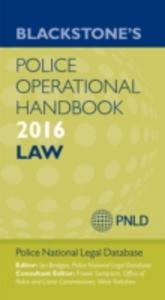 Ebook in inglese Blackstone's Police Operational Handbook 2016 -, -