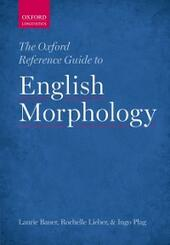 Oxford Reference Guide to English Morphology
