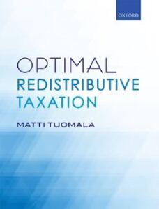 Foto Cover di Optimal Redistributive Taxation, Ebook inglese di Matti Tuomala, edito da OUP Oxford