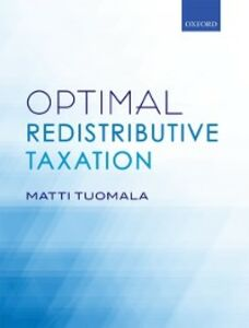 Ebook in inglese Optimal Redistributive Taxation Tuomala, Matti