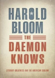 Ebook in inglese Daemon Knows: Literary Greatness and the American Sublime Bloom, Harold