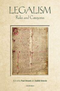 Foto Cover di Legalism: Rules and Categories, Ebook inglese di  edito da OUP Oxford