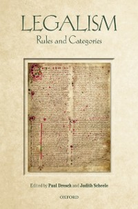 Ebook in inglese Legalism: Rules and Categories -, -