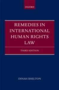 Ebook in inglese Remedies in International Human Rights Law Shelton, Dinah