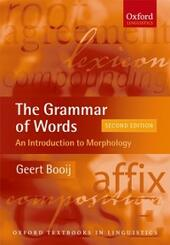 Grammar of Words: An Introduction to Linguistic Morphology