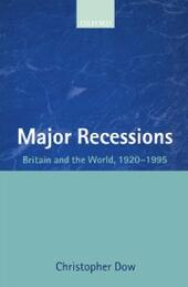 Major Recessions: Britain and the World 1920-1995