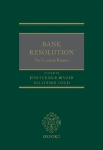 Ebook in inglese Bank Resolution: The European Regime -, -