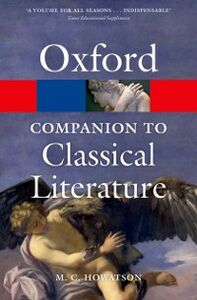 Foto Cover di Oxford Companion to Classical Literature, Ebook inglese di  edito da OUP Oxford