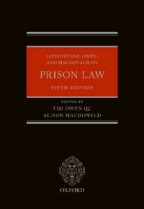 Ebook in inglese Livingstone, Owen, and Macdonald on Prison Law -, -