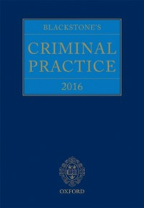 Ebook in inglese Blackstone's Criminal Practice 2016 -, -