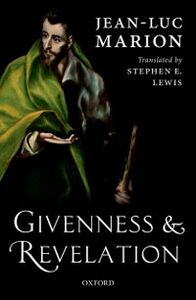 Ebook in inglese Givenness and Revelation Marion, Jean-Luc