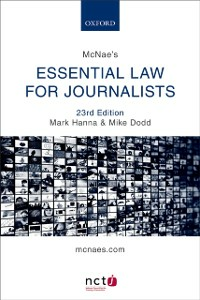Ebook in inglese McNae's Essential Law for Journalists Dodd, Mike , Hanna, Mark