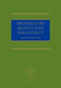 Ebook in inglese Proprietary Rights and Insolvency Calnan, Richard