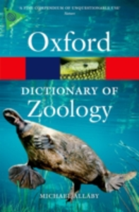 Ebook in inglese Dictionary of Zoology Allaby, Michael