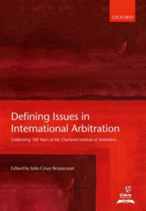 Ebook in inglese Defining Issues in International Arbitration -, -