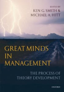 Ebook in inglese Great Minds in Management: The Process of Theory Development -, -