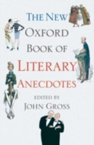Ebook in inglese New Oxford Book of Literary Anecdotes