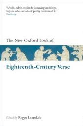 New Oxford Book of Eighteenth-Century Verse: Reissue