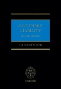 Ebook in inglese Occupiers' Liability North, Peter