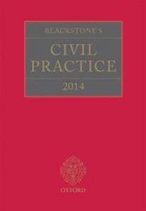 Ebook in inglese Blackstone's Civil Practice 2014 -, -