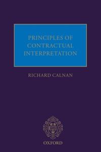 Ebook in inglese Principles of Contractual Interpretation Calnan, Richard