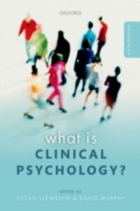 Foto Cover di What is Clinical Psychology?, Ebook inglese di  edito da OUP Oxford