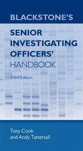 Blackstone's Senior Investigating Officers'Handbook