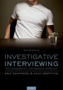 Ebook in inglese Investigative Interviewing: The Conversation Management Approach Griffiths, Andy , Shepherd, Eric