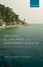 Ancient Economies of the Northern Aegean: Fifth to First Centuries BC