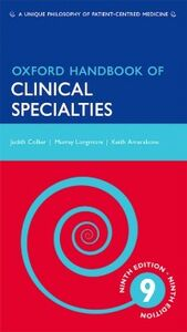 Ebook in inglese Oxford Handbook of Clinical Specialties Amarakone, Keith , Collier, Judith , Longmore, Murray