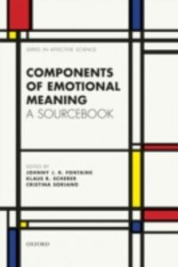 Foto Cover di Components of emotional meaning: A sourcebook, Ebook inglese di  edito da OUP Oxford