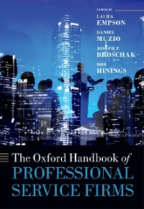 Ebook in inglese Oxford Handbook of Professional Service Firms -, -