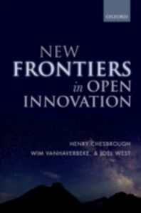 Ebook in inglese New Frontiers in Open Innovation