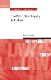 Principle of Loyalty in EU Law