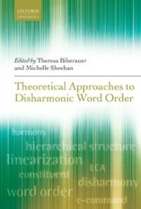Ebook in inglese Theoretical Approaches to Disharmonic Word Order