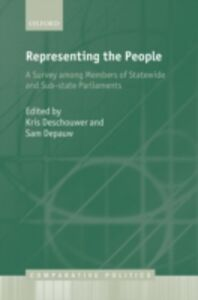 Ebook in inglese Representing the People: A Survey Among Members of Statewide and Substate Parliaments -, -