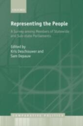 Representing the People: A Survey Among Members of Statewide and Substate Parliaments