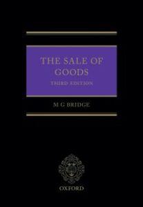 Ebook in inglese Sale of Goods Bridge, Michael