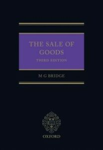 Ebook in inglese Sale of Goods Bridge, Michael