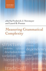 Ebook in inglese Measuring Grammatical Complexity -, -
