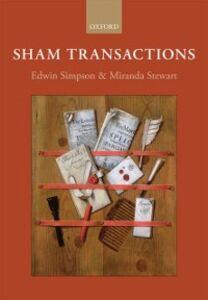 Ebook in inglese Sham Transactions -, -